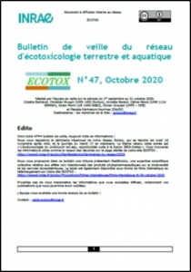 Bulletin 47 : Veille du 01/09/2020 au 31/10/2020