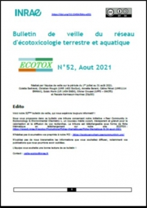 Bulletin 52 : Veille du 01/07/2021 au 31/08/2021