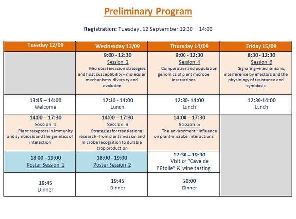 preliminary program 2