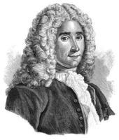 Portrait anonyme de René-Antoine Ferchault de Réaumur issu de Wikipedia