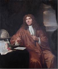 Portrait de Antonie van Leeuwenhoek par by Jan Verkolje (1660-1693)