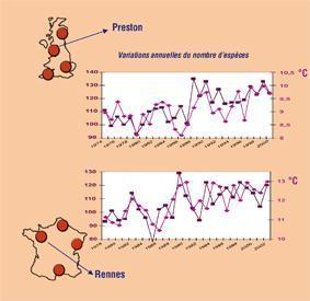 Climat et richesse spécifique