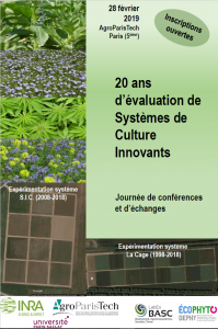 20 ans d'évaluation de systemes de culture innovants
