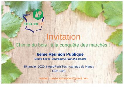 invitation 6ème réunion
