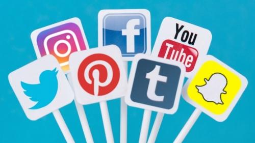 image social médias