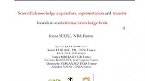 09 - Scientific Knowledge Acquisition, Based on an Electronic Knowledge-Book (Ioana Suciu)