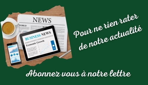 abonnement lettre d'actualités