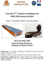 Actes du GDR 2013