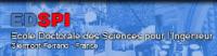 Logo Ecole doctorale des sciences pour l'ingénieur