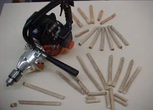 photo 4 échantillongae par carottage