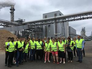 Pluribois 2017 Photo de groupe Usine Egger