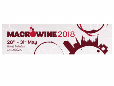 Logo of the Macrowine 2018 conference