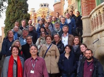 kick off meeting, San Pau, Barcelone, 9,10 et 11 mars 2015