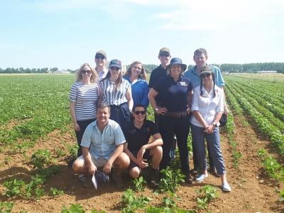 CA-SYS échange avec des agriculteurs étrangers Nuffield