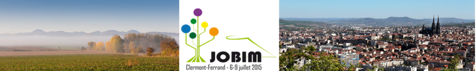 Bienvenue à Clermont-Ferrand - JOBIM 2015 (Photos Jodie WAY à gauche et Ville de Clermont-Ferrand à droite)
