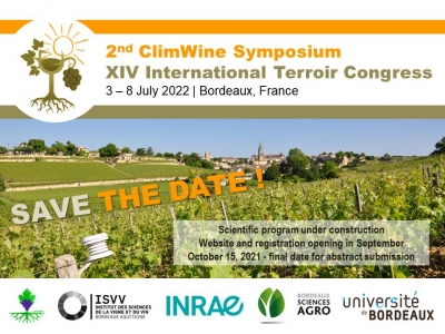ClimWine2022: Save the date !