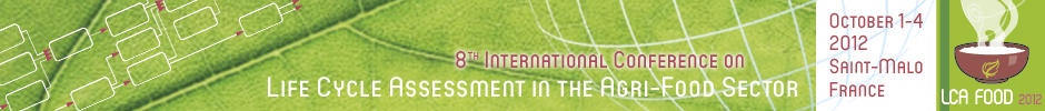 © INRA - Banner LCA Food 2012