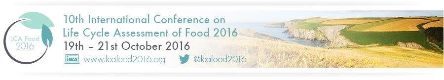 © LCA Food 2016 Banner