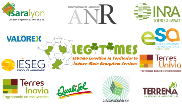 Logos partenaires LEGITIMES