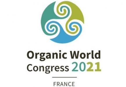Logo de OWC 2021 - Organic wolrd congress - Congrès mondial de l'agriculture biologique