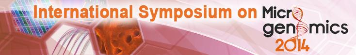 International symposium on Microgenomics, 15-16 May 2014, Paris, France