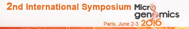 International Symposium on Microgenomics 2016