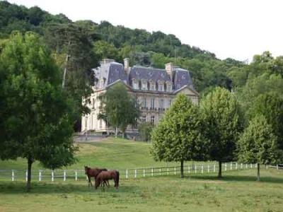 Chateau de Vilvert, INRA Jouy-en-Josas Research Center