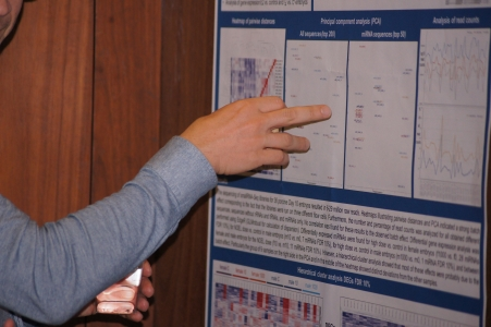 scientific poster for Microgenomics 2016