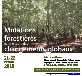 Mutations forestières dans le cadre de changements globaux
