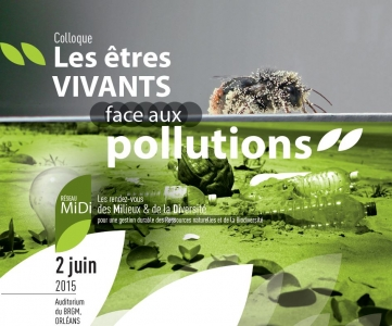 affiche colloque etres vivants face aux pollutions