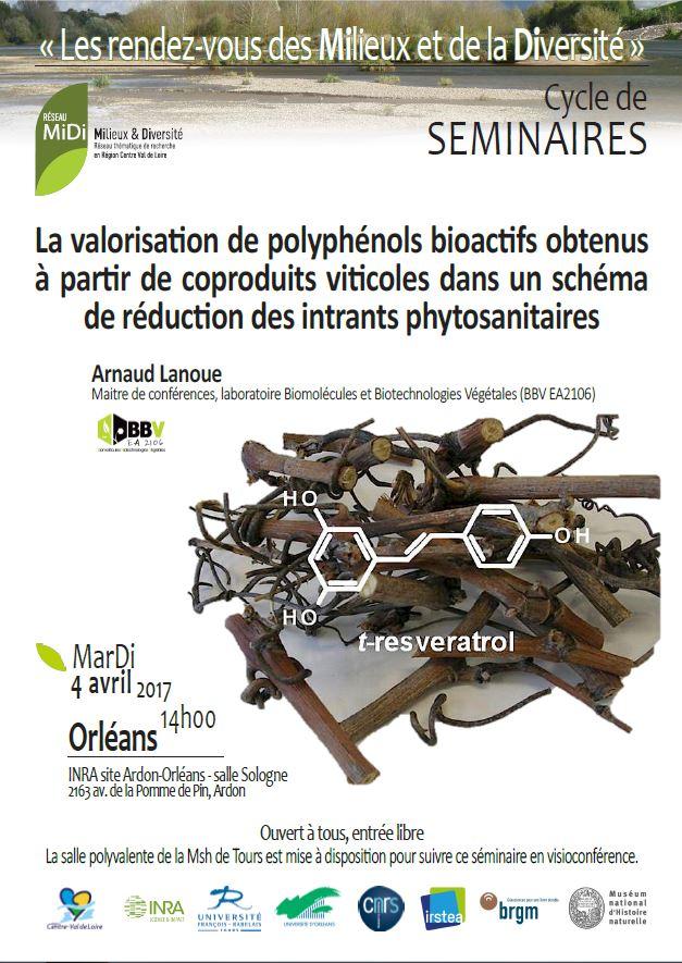affiche MiDi Arnaud Lanoue