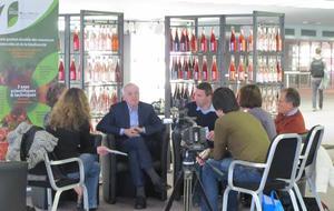 expo carole Marchais et interview Jean Jouzel