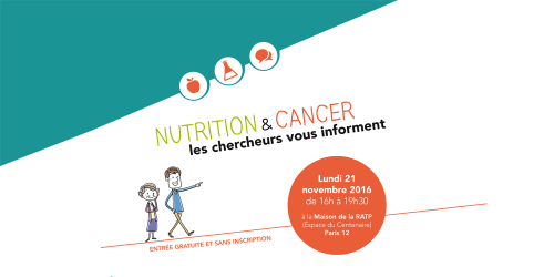 NACRe evement grand public cancer nutrition chercheurs