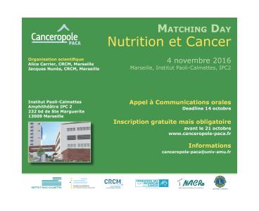 Cancéropôle PACA, 2016