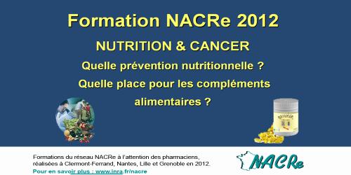 Formattion pharmaciens 2012 du réseau NACRe