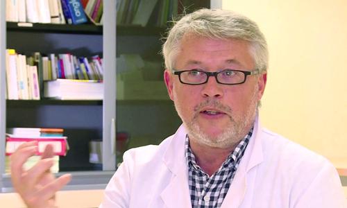Dr Bruno Raynard, chef de l'unité transversale de diététique et de nutrition