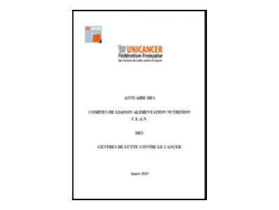 Annuaire des CLANs des centres de lutte contre le cancer