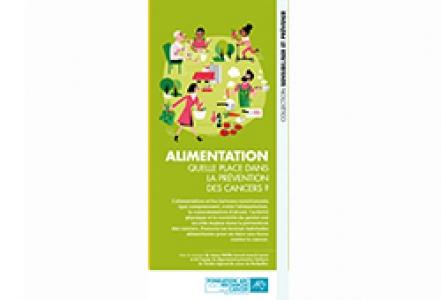 Dépliant Fondation ARC « Alimentation. Quelle place dans la prévention des cancers ? » 2020