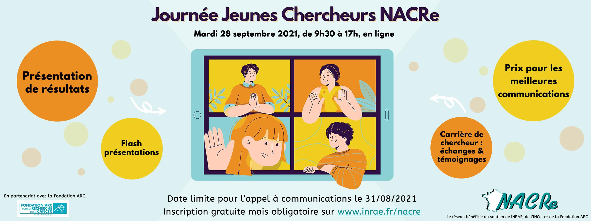 Bandeau_Journée Jeunes Chercheurs NACRe 2021