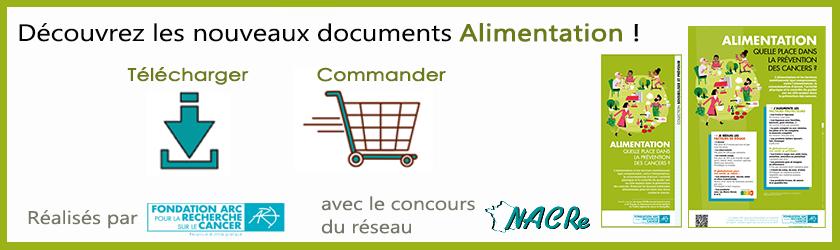 Nouveaux documents Alimentation - Fondation ARC 2020