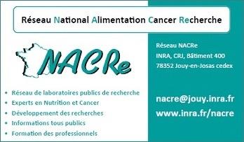 Carte de visite du réseau NACRe