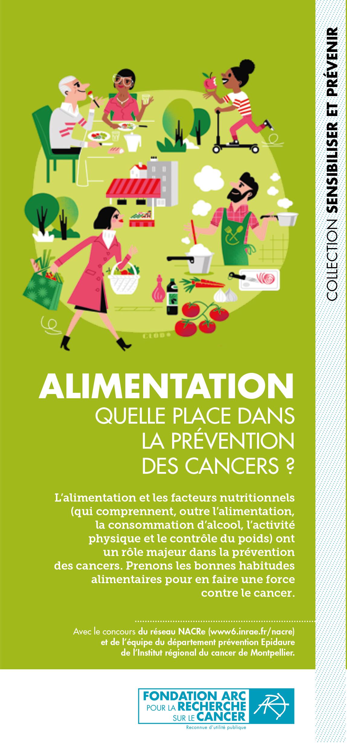 Depliant Alimentation Fondation ARC 2020