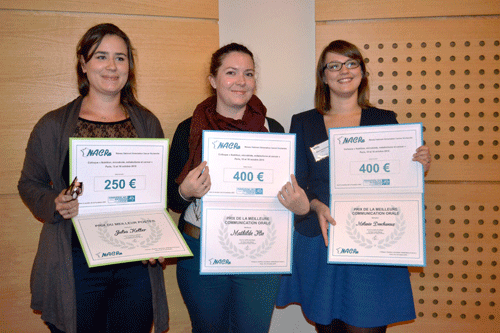 Lauréates du prix NACRe 2015