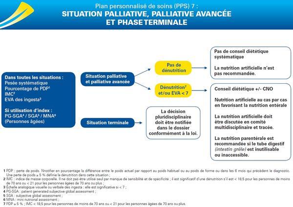 PPS 7 : situation palliative, palliative avancée et phase terminale