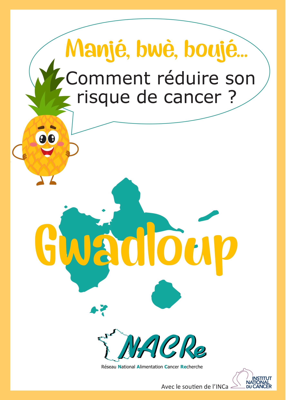 Depliant DROM Guadeloupe réseau NACRe 2018