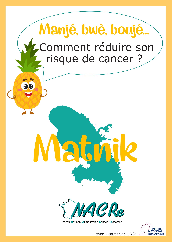 Dépliant DROM Martinique réseau NACRe 2018