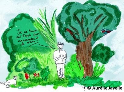 Enseigner la nature et dans la nature pour instaurer un nouveau rapport entre humain et non humain