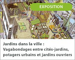 Jardins dans la ville : Vagabondages entre cités-jardins, potagers urbains et jardins ouvriers