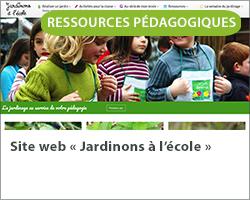 Site web « Jardinons à l'école »