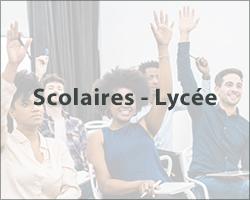 Scolaires - Lycée